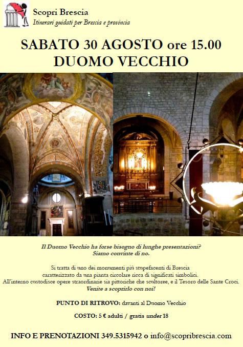 Duomo Vecchio con ScopriBrescia