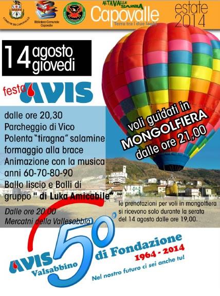 Festa Avis a Capovalle