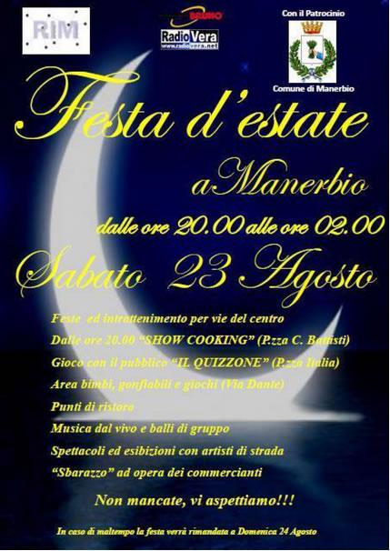 Festa d'Estate a Manerbio