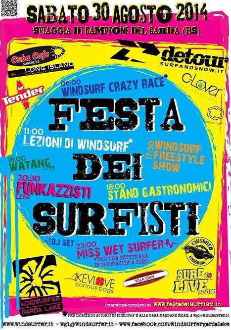 Festa dei Surfisti a Campione del Garda