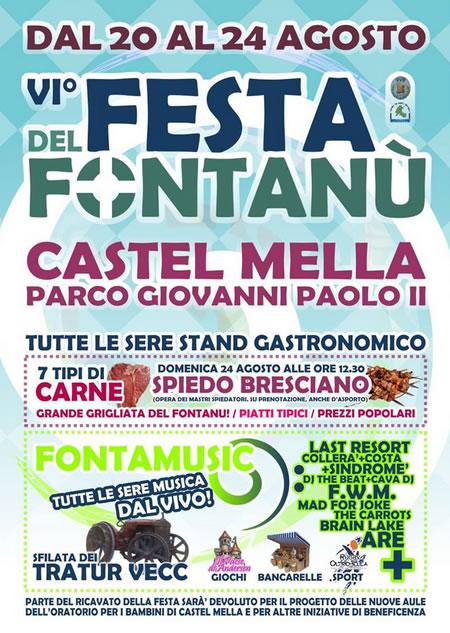 Festa del Fontanù a Castel Mella