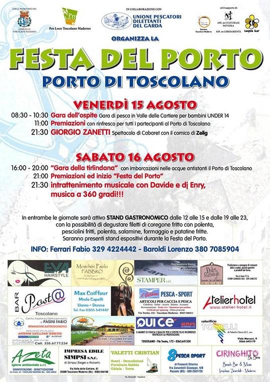 Festa del Porto 2014 Toscolano Maderno