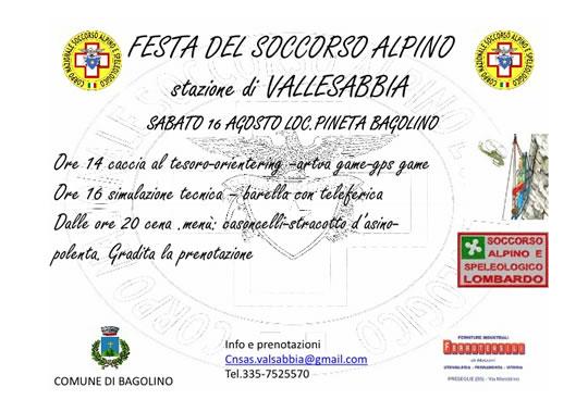 Festa del Soccorso Alpino a Bagolino