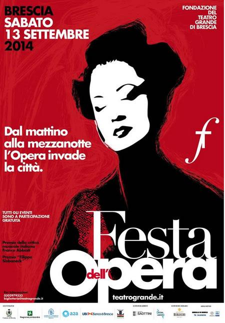 Festa dell'Opera 2014 a Brescia
