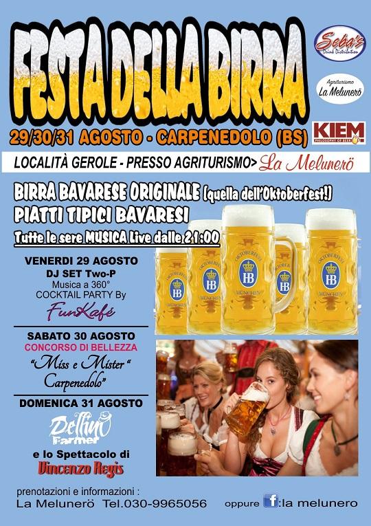 Festa della birra Melonera Carpenedolo 2014