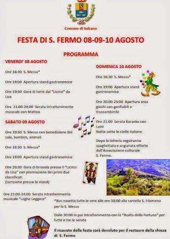 Festa di S.Fermo a Sulzano