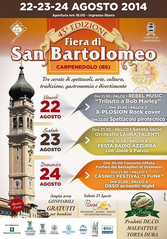 Fiera di San Bartolomeo 2014 Carpenedolo