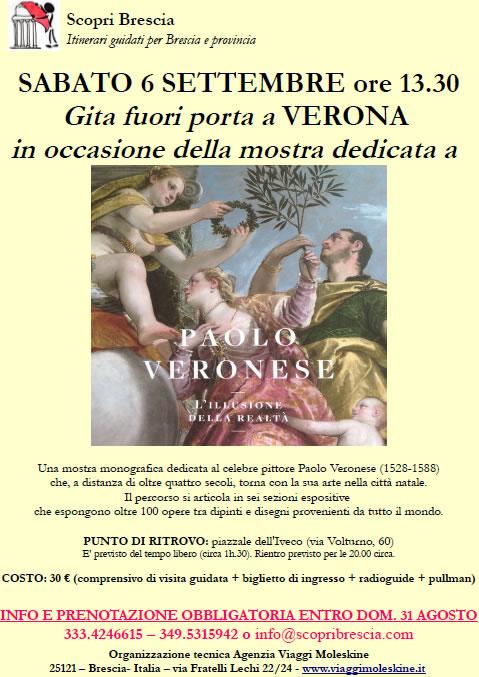Gita Fuori Porta a Verona con Scopri Brescia
