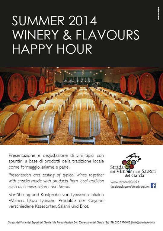 Happy Hour nelle cantine del Garda 2014