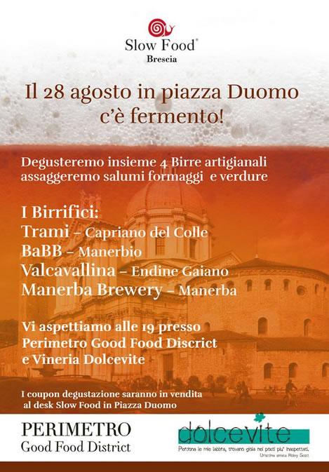 In Piazza Duomo c'è Fermento
