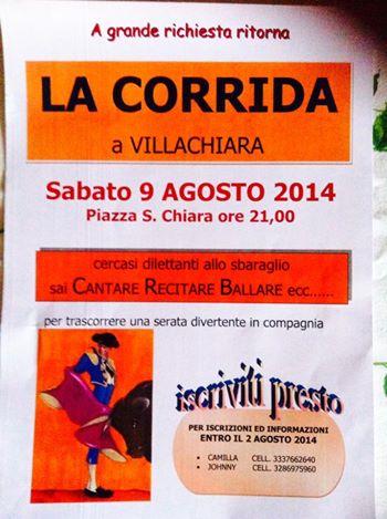 La corrida a Villachiara 2014