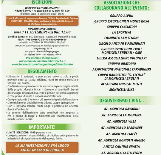 Magnalonga   Monticelli Brusati