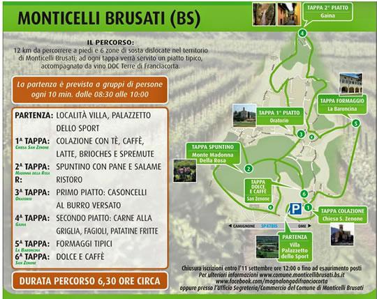 Magnalonga di Franciacorta  Monticelli Brusati