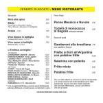 Cigole Menù 2
