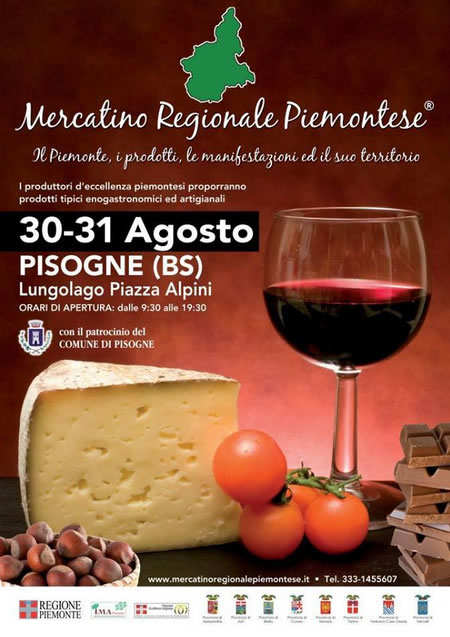 Mercatino Regionale Piemontese a Pisogne
