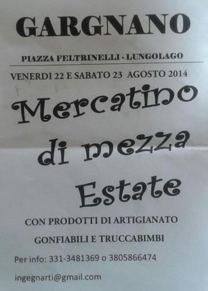 Mercatino di Mezza Estate a Gargnano