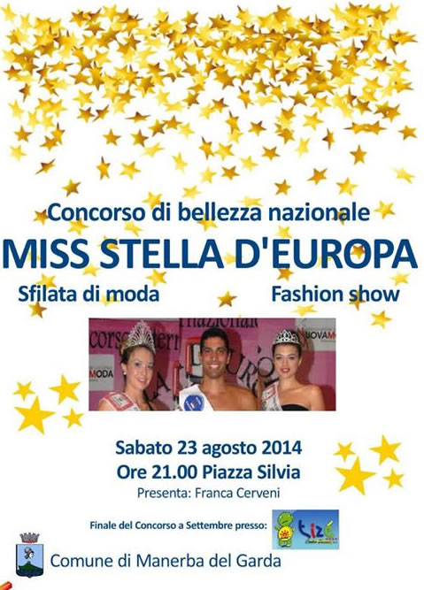 Miss Stella d'Europa a Manerba