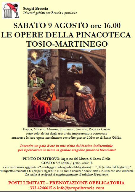 Pinacoteca Tosio-Martinego con ScopriBrescia