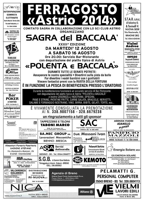 Sagra del Baccalà 2014 Breno