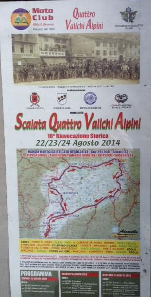 Scalata Quattro Valichi Alpini a Edolo