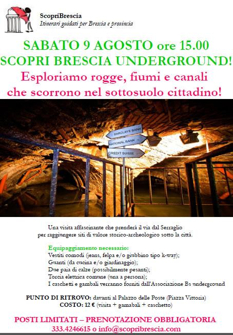 ScopriBrescia Underground