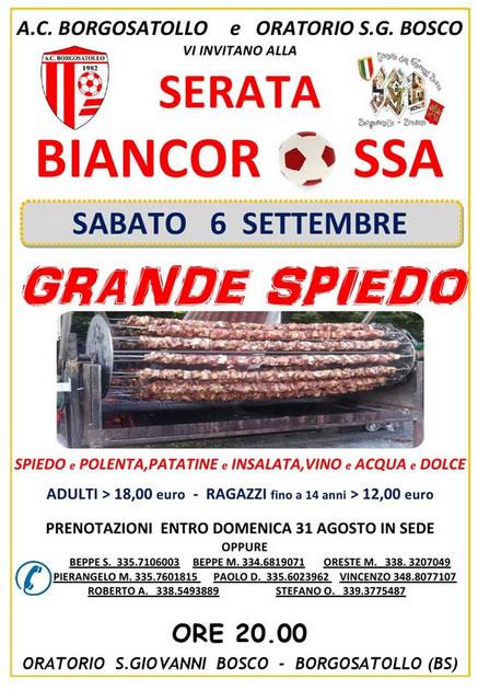 Serata Biancorossa a Borgosatollo