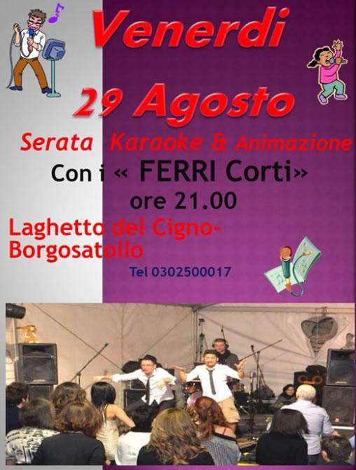 Serata Karaoke e Animazione a Borgosatollo