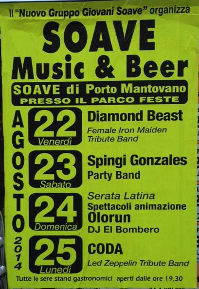 Soave Music e Beer a Porto Mantovano (MN)