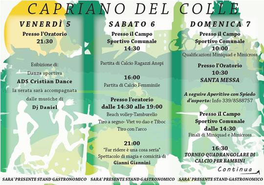 Sport Fest  Capriano del Colle