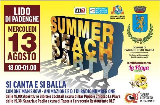 Summer Beach Party a Padenghe