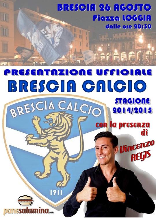 Presentazione BRESCIA CALCIO 2014-5