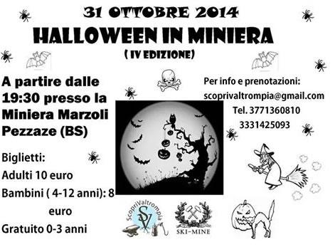 4° Halloween in Miniera a Pezzaze