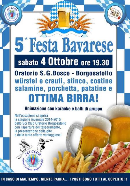 5° Festa Bavarese a Borgosatollo