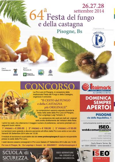 64° Festa del Fungo e della Castagna a Pisogne