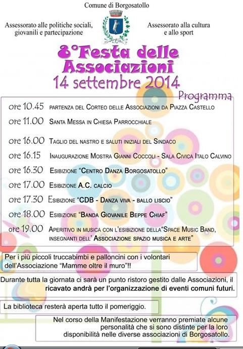 8° Festa delle Associazioni a Borgosatollo