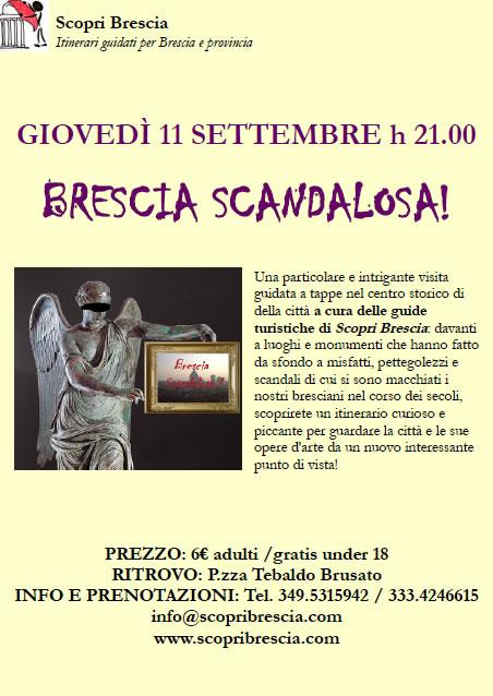 Brescia Scandalosa con ScopriBrescia
