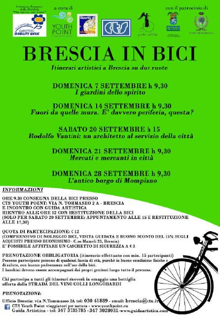 Brescia in Bici con Guida Artistica