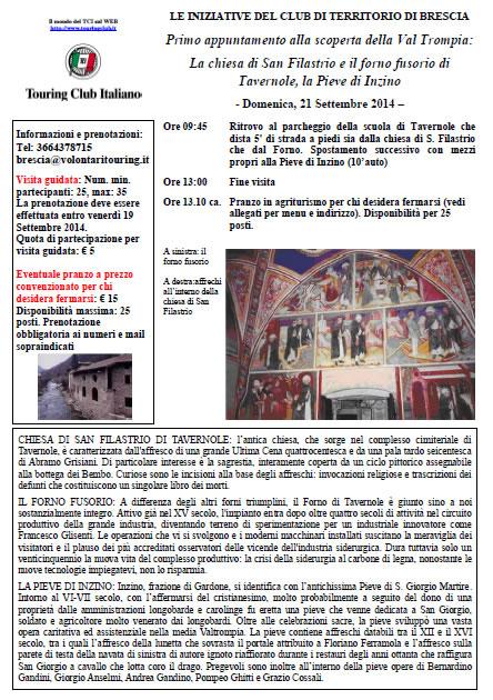 Chiesa di San Filastrio a Tavernole con TCI