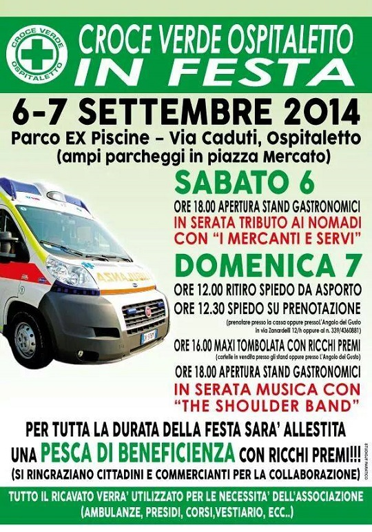 Croce Verde Ospitaletto in Festa 2014