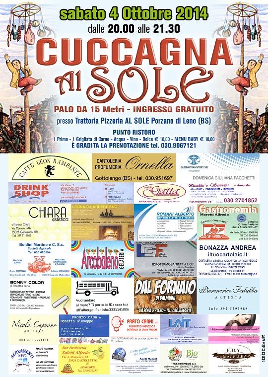 Cuccagna AL SOLE 2014 Leno