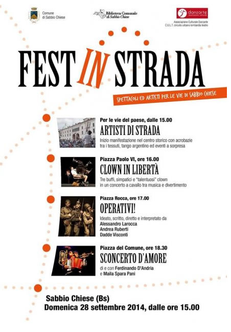 Fest In Strada a Sabbio Chiese