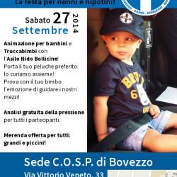 Festa Cosp per Nonni e Nipotini a Bovezzo