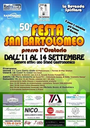 Festa San Bartolomeo a Brescia