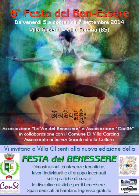 Festa del Benessere 2014 a Villa Carcina