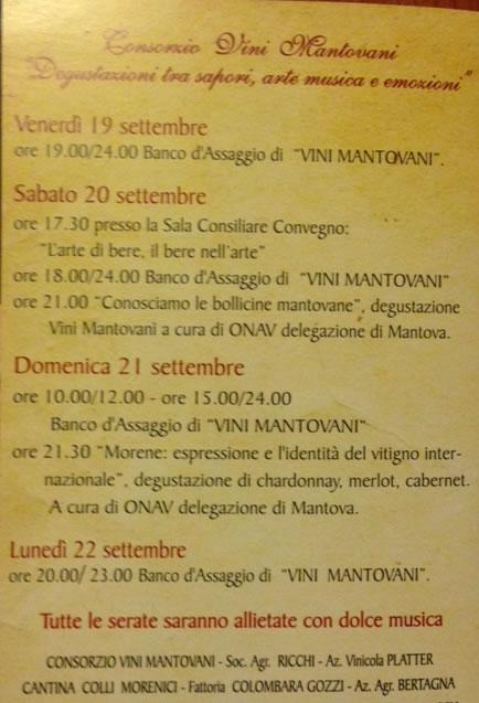 Festa dell'Uva a Monzambano MN