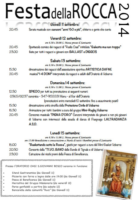 Festa della Rocca a Vobarno
