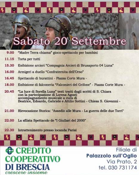Festa di Mura a Palazzolo Sull'Oglio