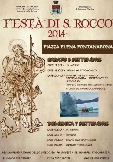 Festa di S.Rocco a Concesio