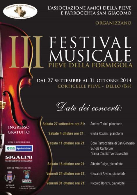 Festival Musicale a Corticelle Pieve di Dello