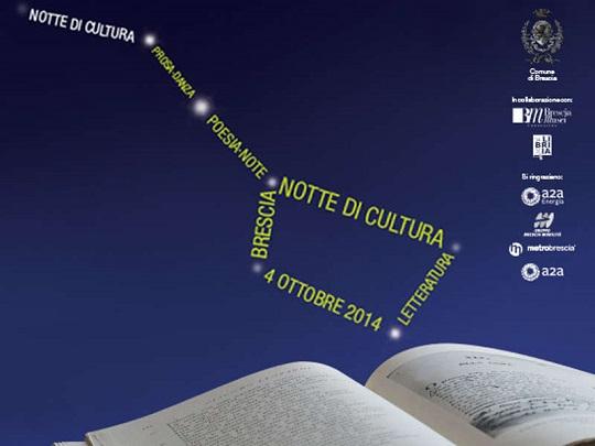Notte della Cultura 2014 Brescia